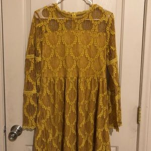 Target mustard yellow dress.